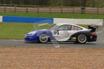© Octane Photographic Ltd. Donington Park - General Test - 19th April 2012. Peter Smallwood, Porsche GT3 Cup Challenge. Digital ref : 0297lw7d5702