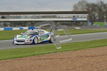 © Octane Photographic Ltd. Donington Park - General Test - 19th April 2012. Ben Gower/Ben Pitch, Lotus Elise, Britcar MSA British Endurance Championship. Digital ref : 0297lw7d5958