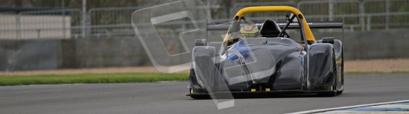 © Octane Photographic Ltd. Donington Park un-silenced general test day, 26th April 2012. Dunlop Radical UK Cup - Masters, Andy Cummings. Digital Ref : 0301lw7d8621