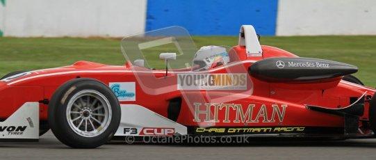 © Octane Photographic Ltd. Donington Park un-silenced general test day, 26th April 2012. Prajesh Shah, Dallara, F3 Cup. Digital Ref : 0301lw7d9561