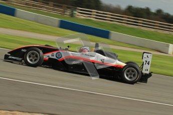 © Octane Photographic Ltd. Donington Park un-silenced general test day, 26th April 2012. James Abbott, Dallara F306, F3 Cup. Digital Ref : 0301lw7d9897