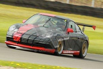© Octane Photographic Ltd. Donington Park un-silenced general test day, 26th April 2012. Chris Bentley - British GT Cup - Porsche 996 GT3. Digital Ref : 0301cb1d3166