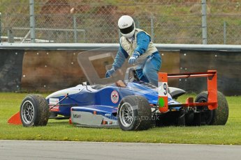 © Octane Photographic Ltd. Donington Park un-silenced general test day, 26th April 2012. Louis Hamilton-Smith, Dallara F304, F3 Cup. Digital Ref : 301cb1d35030