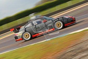 © Octane Photographic Ltd. Donington Park un-silenced general test day, 26th April 2012. Chris Bentley - British GT Cup - Porsche 996 GT3. Digital Ref : 0301cb7d7719