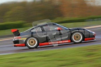 © Octane Photographic Ltd. Donington Park un-silenced general test day, 26th April 2012. Chris Bentley - British GT Cup - Porsche 996 GT3. Digital Ref : 0301cb7d7848