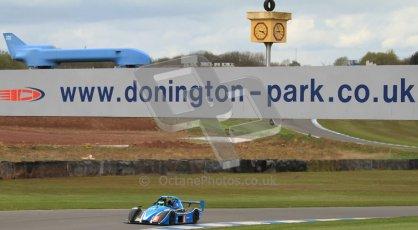 © Octane Photographic Ltd. Donington Park un-silenced general test day, 26th April 2012. Digital Ref : 0301cb7d8235