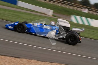 © Octane Photographic Ltd. Donington Park un-silenced general test day, 26th April 2012. Matra MS120 - Historic F1 Championship - Rob Hall. Digital Ref : 0301lw7d0215