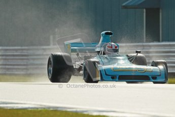© Octane Photographic Ltd. Donington Park un-silenced general test day, 26th April 2012. Simon Taylor, Ex-Derek Bell Chevron B24 F5000Digital Ref : 0301cb1d2769