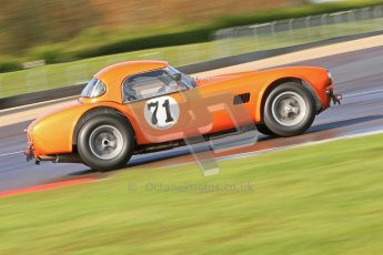 © Octane Photographic Ltd. Donington Park un-silenced general test day, 26th April 2012. Ingram/Chiles/Chiles Jr, AC Cobra. Digital Ref : 0301cb7d7476