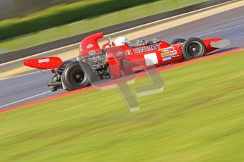© Octane Photographic Ltd. Donington Park un-silenced general test day, 26th April 2012. March 711, Historic F1. Digital Ref : 0301cb7d7528