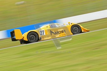 © Octane Photographic Ltd. Donington Park un-silenced general test day, 26th April 2012. Nissan R90 CK. Digital Ref : 0301cb7d8000