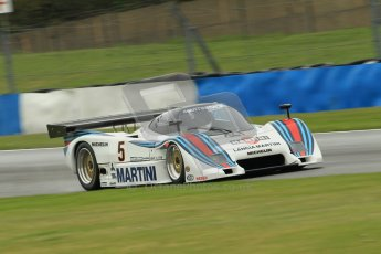© Octane Photographic Ltd. Donington Park testing, May 17th 2012. Bob Berridge - Lancia LC2. Digital Ref : 0339cb1d6432