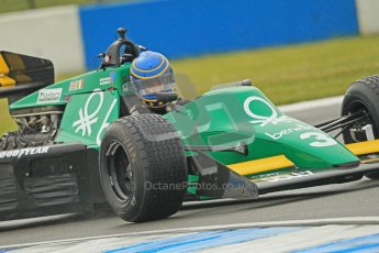 © Octane Photographic Ltd. Donington Park testing, May 17th 2012. Nigel Greensall - Ex-Michele Simmonds Alboreto Tyrrell 012. Digital Ref : 0339cb1d6809