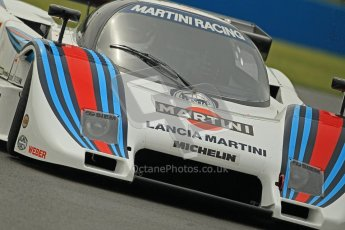 © Octane Photographic Ltd. Donington Park testing, May 17th 2012. Bob Berridge - Lancia LC2. Digital Ref : 0339cb1d6842