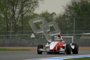 © Octane Photographic Ltd. Donington Park testing, May 17th 2012. Hillspeed Racing - Kieran Vernon. Formula Renault BARC. Digital Ref : 0339lw7d8821