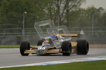 © Octane Photographic Ltd. Donington Park testing, May 17th 2012. Ex-Ricardo Patrese Arrows A1. Digital Ref : 0339lw7d9397