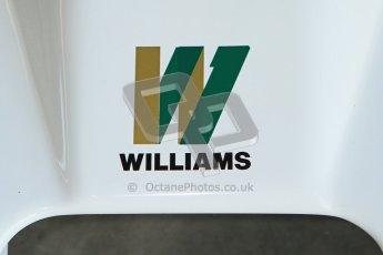© Octane Photographic Ltd. Donington Park un-silenced general testing. Thursday 29th March 2012. Williams FW06, Historic F1. Digital Ref : 0261cb7d3764