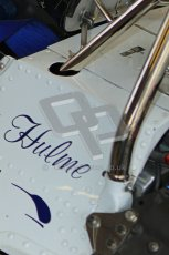 © Octane Photographic Ltd. Donington Park un-silenced general testing. Thursday 29th March 2012. McLaren M19, Historic F1. Digital Ref : 0261cb7d3768