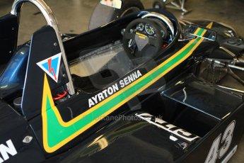 © Octane Photographic Ltd. Donington Park un-silenced general testing. Thursday 29th March 2012, Ayrton Senna Ralt. Digital Ref : 0261cb7d3776