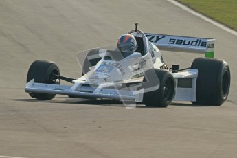 © Octane Photographic Ltd. Donington Park un-silenced general testing. Thursday 29th March 2012. Williams FW06 - Rob Hall, Historic F1. Digital Ref : 0261cb7d4173