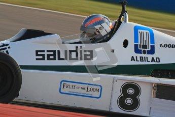 © Octane Photographic Ltd. Donington Park un-silenced general testing. Thursday 29th March 2012. Williams FW06 - Rob Hall, Historic F1. Digital Ref : 0261cb7d4176