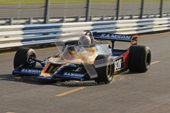 © Octane Photographic Ltd. Donington Park un-silenced general testing. Thursday 29th March 2012, Historic F1. Digital Ref : 0261cb7d4312