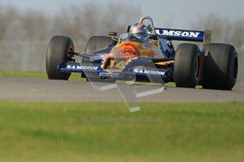 © Octane Photographic Ltd. Donington Park un-silenced general testing. Thursday 29th March 2012, Historic F1. Digital Ref : 0261cb7d4361