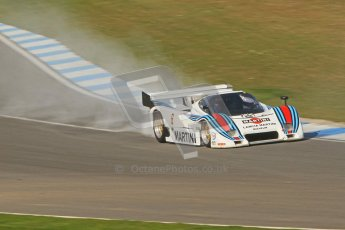© Octane Photographic Ltd. Donington Park un-silenced general testing. Thursday 29th March 2012. Lancia LC2 - Rupert Clevely. Digital Ref : 0261cb7d4454