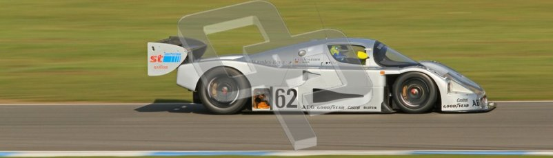 © Octane Photographic Ltd. Donington Park un-silenced general testing. Thursday 29th March 2012. Sauber C9 - Gareth Evans. Digital Ref : 0261cb7d4468