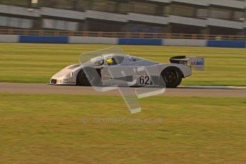 © Octane Photographic Ltd. Donington Park un-silenced general testing. Thursday 29th March 2012. Sauber C9 - Gareth Evans. Digital Ref : 0261lw7d4816
