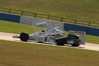© Octane Photographic Ltd. Donington Park un-silenced general testing. Thursday 29th March 2012. Williams FW06, Historic F1. Digital Ref : 0261lw7d5555