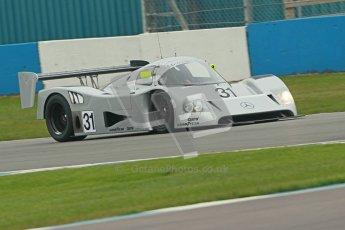 © Octane Photographic Ltd. Donington Park testing, May 3rd 2012. Bob Berridge driving the ex-Michael Schumacher/Mauro Baldi Sauber C11. Digital Ref : 0313cb1d6874
