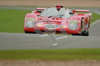 © Octane Photographic Ltd. Donington Park testing, May 3rd 2012. Ex-Ickx/Giunti Ferrari 512M. Digital Ref : 0313cb1d7091