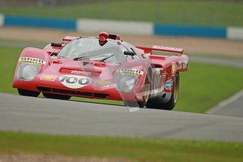 © Octane Photographic Ltd. Donington Park testing, May 3rd 2012. Ex-Ickx/Giunti Ferrari 512M. Digital Ref : 0313cb1d7095
