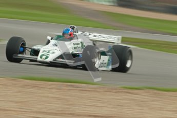 © Octane Photographic Ltd. Donington Park testing, May 3rd 2012. Ex-Keke Rosberg Williams FW08, Historic F1. Digital Ref : 0313cb1d7377
