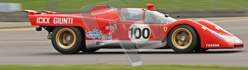 © Octane Photographic Ltd. Donington Park testing, May 3rd 2012. Ex-Ickx/Giunti Ferrari 512M. Digital Ref : 0313cb7d9318