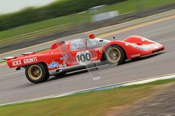 © Octane Photographic Ltd. Donington Park testing, May 3rd 2012. Ex-Ickx/Giunti Ferrari 512M. Digital Ref : 0313cb7d9357