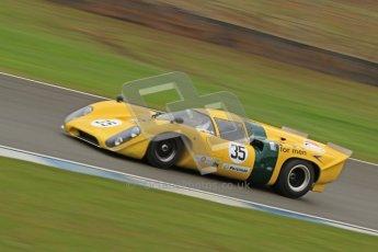 © Octane Photographic Ltd. Donington Park testing, May 3rd 2012. Lola T70. Digital Ref : 0313cb7d9538