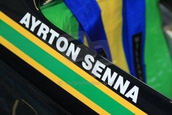 © Octane Photographic Ltd. Donington Park testing, May 3rd 2012. Ex-Ayrton Senna Ralt RT3 F3 car. Digital Ref : 0313cb7d9579