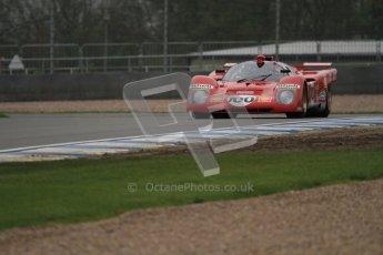 © Octane Photographic Ltd. Donington Park testing, May 3rd 2012. Ex-Ickx/Giunti Ferrari 512M. Digital Ref : 0313lw7d5932