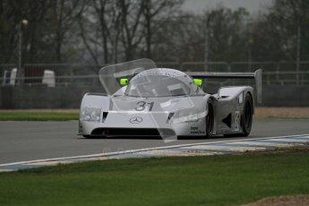 © Octane Photographic Ltd. Donington Park testing, May 3rd 2012. Bob Berridge driving the ex-Michael Schumacher/Mauro Baldi Sauber C11. Digital Ref : 0313lw7d5977