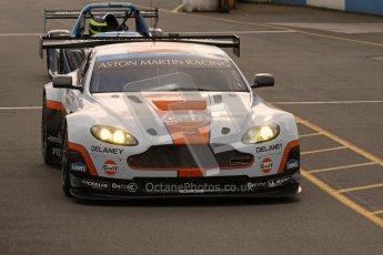 © Octane Photographic Ltd. 2012. Donington Park - General Test Day. Thursday 16th August 2012. FIA WEC. Aston Martin Vantage GTE. Digital Ref : 0458lw7d0081
