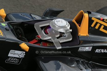 © Octane Photographic Ltd. 2012. Donington Park - General Test Day. Thursday 16th August 2012. Formula Renault BARC. Laura Tillett - Fortec Motorsports. Digital Ref : 0458cb1d0270