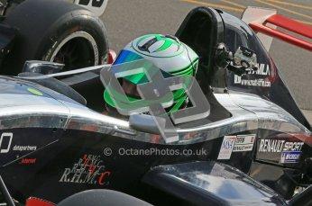 © Octane Photographic Ltd. 2012. Donington Park - General Test Day. Thursday 16th August 2012. Formula Renault BARC. Matt Tiffin - JWA-Avila. Digital Ref : 0458cb1d0425