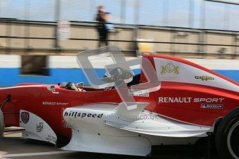 © Octane Photographic Ltd. 2012. Donington Park - General Test Day. Thursday 16th August 2012. Formula Renault BARC. Kieran Vernon - Hillspeed. Digital Ref : 0458cb1d0533