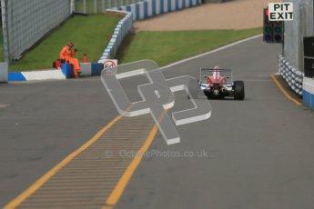 © Octane Photographic Ltd. 2012. Donington Park - General Test Day. Thursday 16th August 2012. Formula Renault BARC. Kieran Vernon - Hillspeed. Digital Ref : 0458cb1d0543