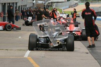 © Octane Photographic Ltd. 2012. Donington Park - General Test Day. Thursday 16th August 2012. Formula Renault BARC. Laura Tillett - Fortec Motorsports. Digital Ref : 0458cb1d0607