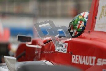 © Octane Photographic Ltd. 2012. Donington Park - General Test Day. Thursday 16th August 2012. Formula Renault BARC. Kieran Vernon - Hillspeed. Digital Ref : 0458cb1d0787