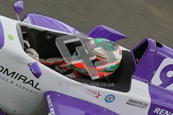 © Octane Photographic Ltd. 2012. Donington Park - General Test Day. Thursday 16th August 2012. Formula Renault BARC. Josh Webster - MGR Motorsport. Digital Ref : 0458cb1d1271
