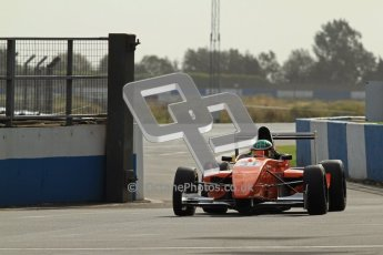 © Octane Photographic Ltd. 2012. Donington Park - General Test Day. Thursday 16th August 2012. Formula Renault BARC. Seb Morris - Fortec Motorsports. Digital Ref : 0458cb7d0066